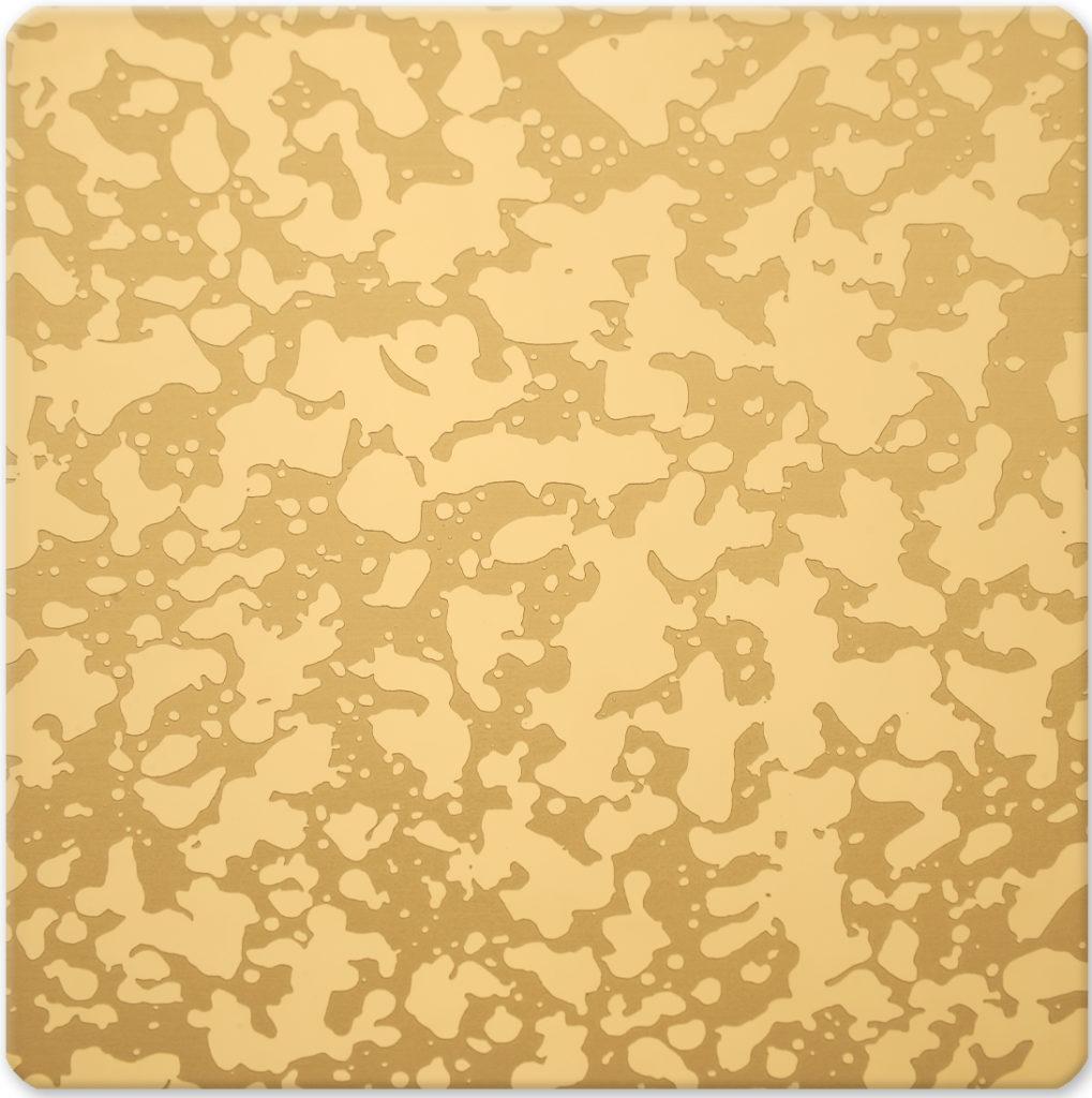 YH-GE08 (Desenli Altın Ayna)