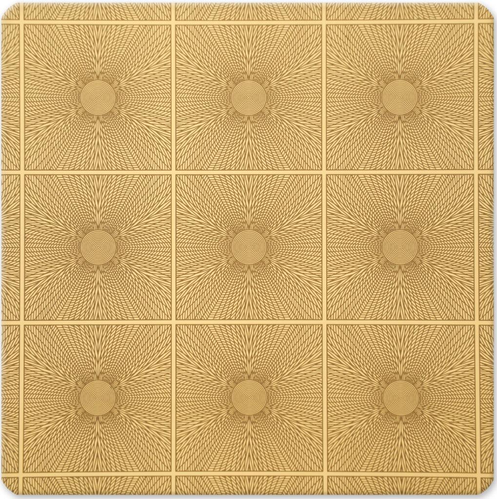 YH-GE28 (Desenli Altın Ayna)
