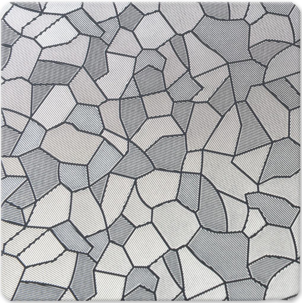 Austenit (Mozaik) Embossed (Kabartmalı) Paslanmaz Çelik
